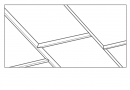 DUMACLIP 25x120cm bel mat